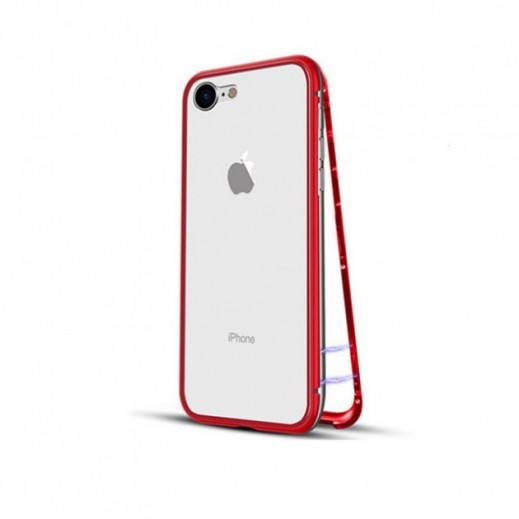 Extreme Thin Protective Magnetic Case (360*) iPhone 6 / 6s (Red)